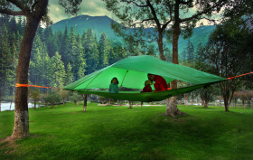Tentsile, Vista Tent, suspended tent, portable treehouse