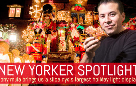 Tony Muia, Slice of New York Tours, Dyker Heights