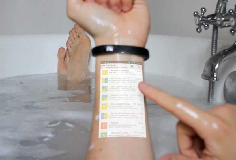 Cicret Bracelet, wearable technology