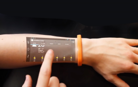 Cicret Bracelet, wearable technology