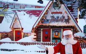 santas village north pole new york