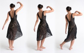 4D-Printed Dress, MoMA, Nervous System, Kinematics