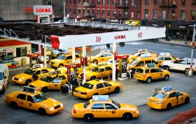 NYC gas station