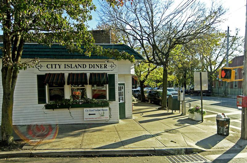 city island diner, city island bronx
