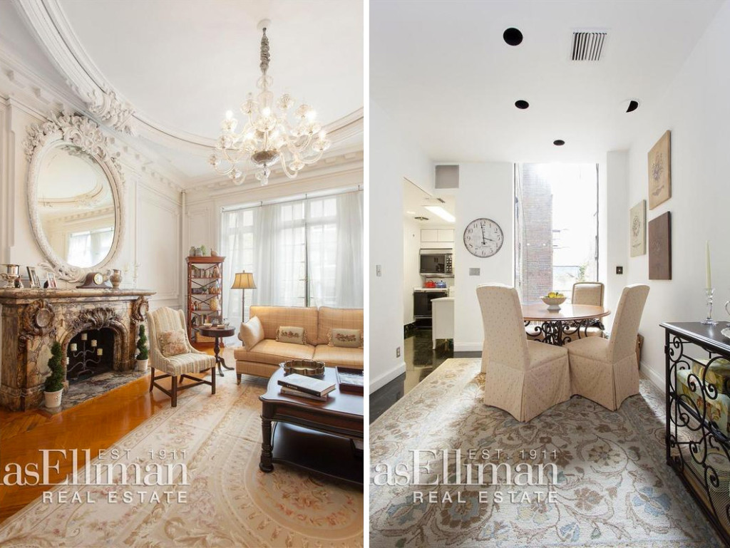 Upper West Side Duplex Is a Crown Molding Lover\'s Dream | 6sqft