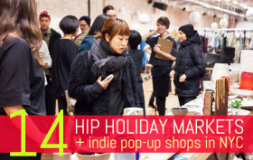 capsule nyc holiday market