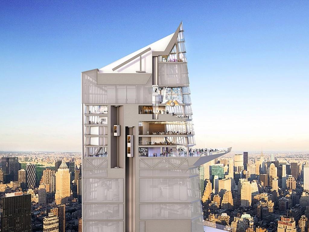 Hudson Yards Observation Deck Will Offer A Death Defying