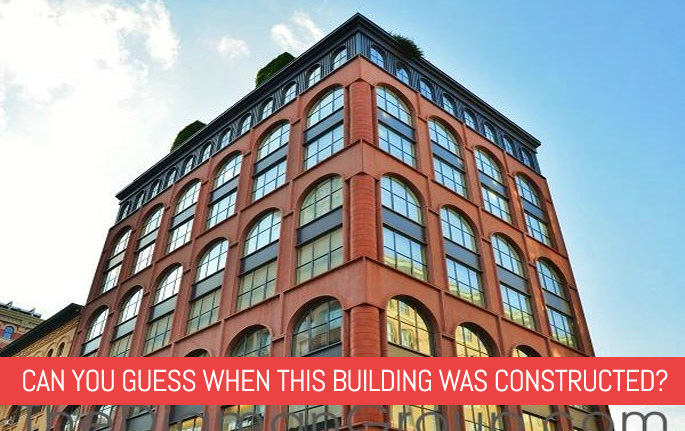 quiz can you guess when this building was constructed 6sqft