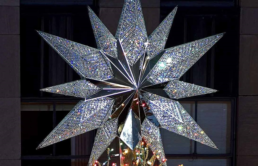 rockefeller center christmas tree swarovski star