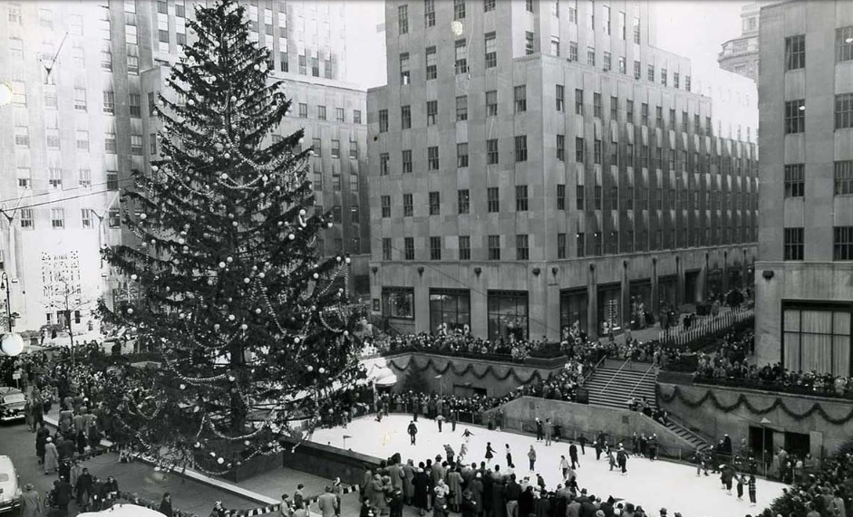 Lighting Of Rockefeller Center Christmas Tree