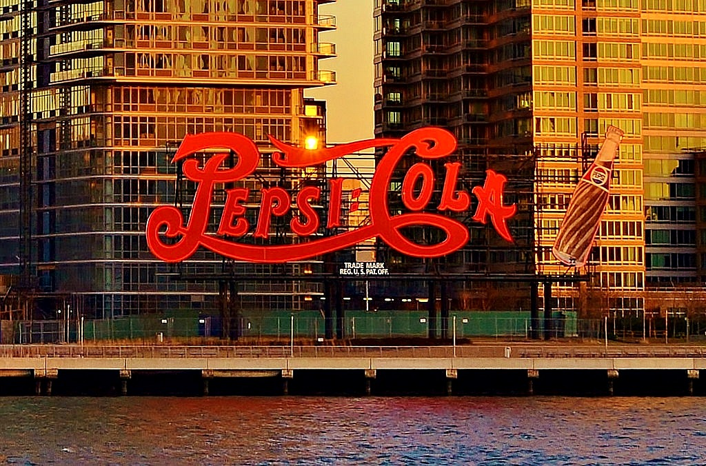 Pepsi sign, Long Island City