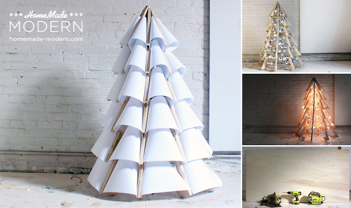 Holiday Sparkle: Holiday Tree Alternatives With Modern