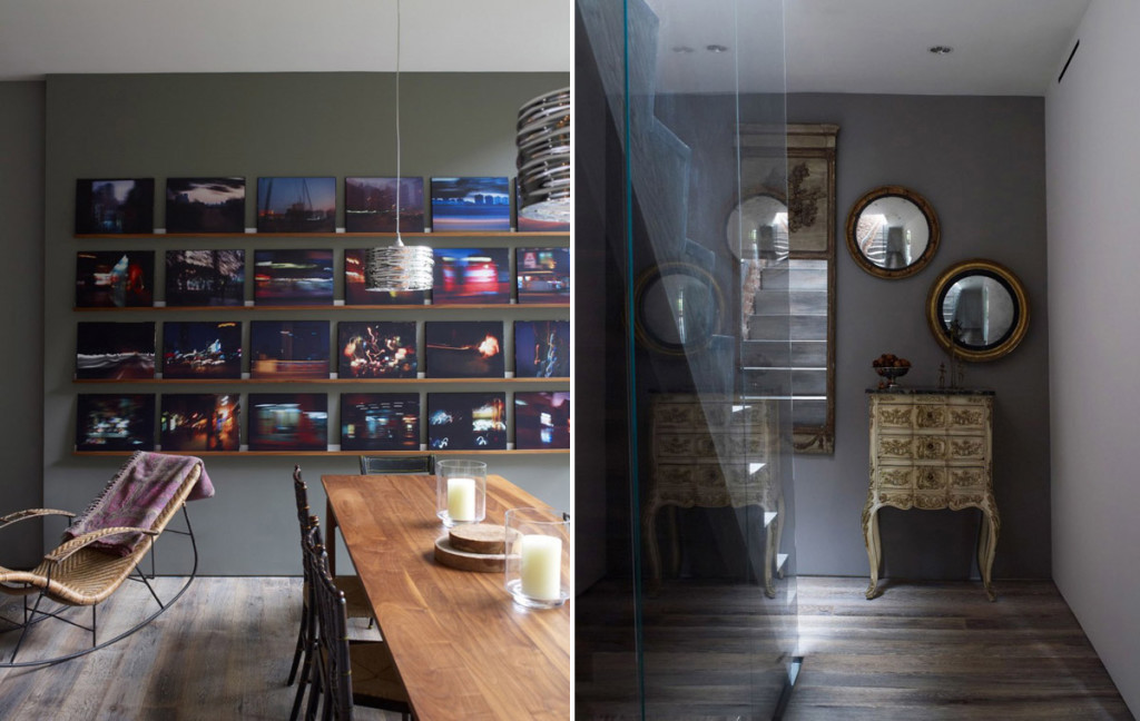 Chelsea Townhouse, Archi-Tectonics, gut renovation, glass skylight, garden extension