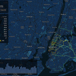Holiday Taxi Map, ImageWork Technologies, NYC Holiday Taxi Visualization