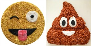 Misterkrisp, Rice Krispies Treats, Jessica Siskin, food art, edible art, emojis