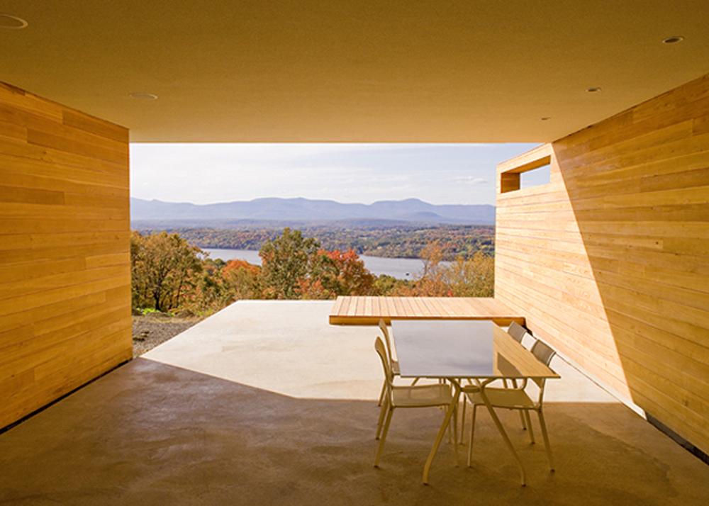 joel sanders architect house on mt merino hudson river and catskill mountains