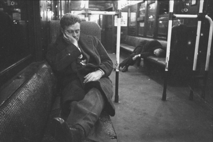 vintage new york subway photos by stanley kubrick