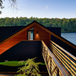 Altius Architecture, Modern boathouse, Lake Joseph Boathouse, Canadian Muskoka Lake boathouses, lake life,