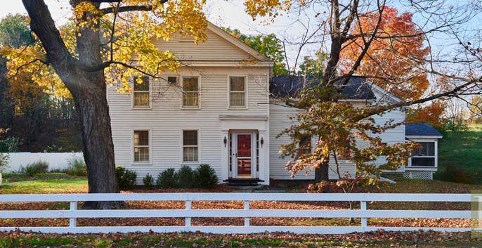 18th century colonial farmhouse in claverack sits on ten acres