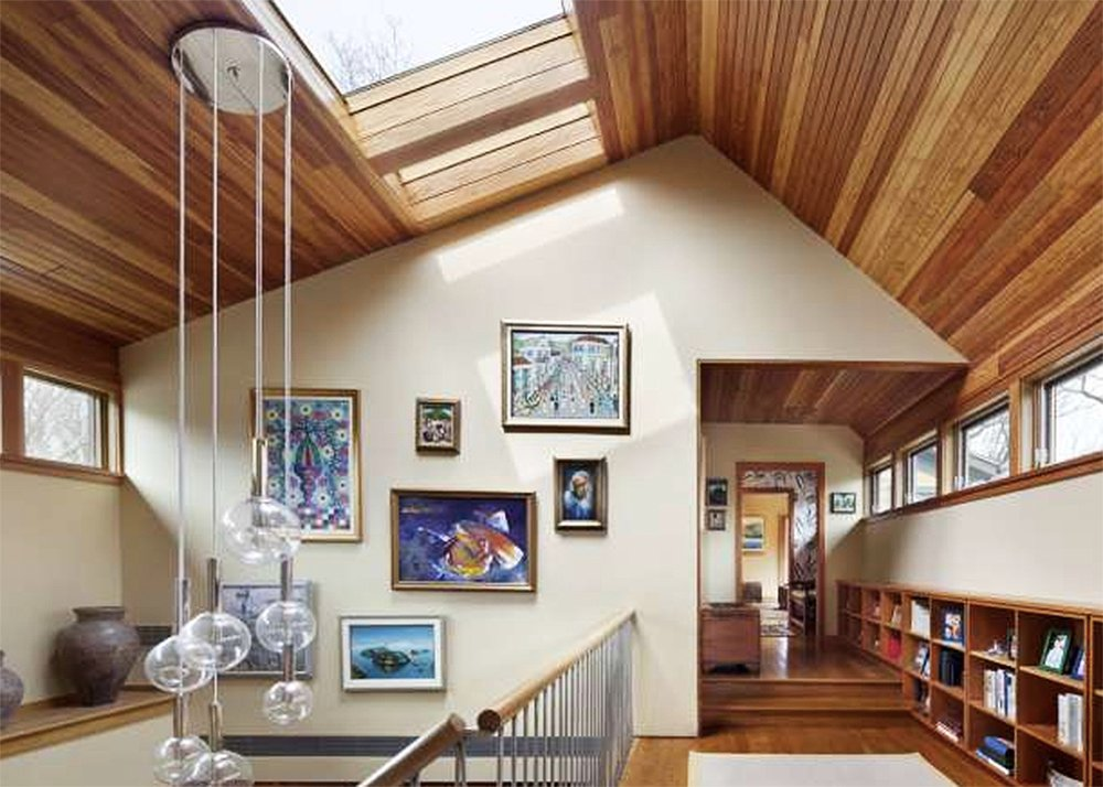 Architect Stephen Moser, treehouse-inspired home, Mamaroneck Residence, renovated ranch, 1950s ranch, Mamaroneck, O'Brien Carpentry,