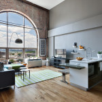 2-17 51st Avenue, The Powerhouse condos, modern loft with luxury amenities, iconic arched window