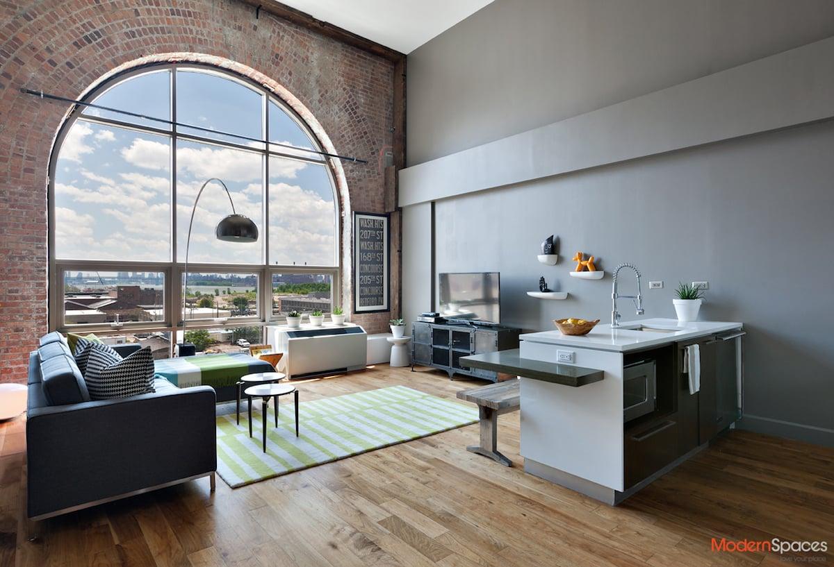 loft home office. Modern Loft In Long Island City\u0027s Powerhouse Asks $1.2M Home Office