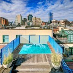 45 Greene Street, Soho Cast Iron District, multiple outdoor terraces, swimming pool