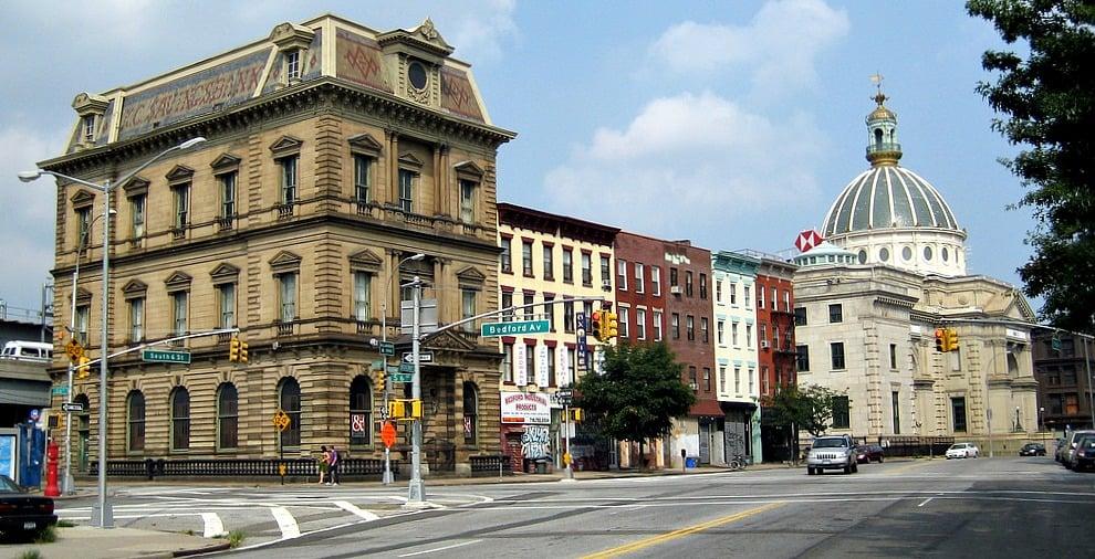 Broadway in Brooklyn, Kings County Savings Bank, Williamsburg Savings Bank