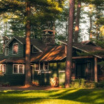 White Pine Camp, dreamy woodland retreat, President Calvin Coolidge, Find Everything Historic, Osgood Pond, Japanese tea house, stone fireplaces, Gilded Age, Adirondacks