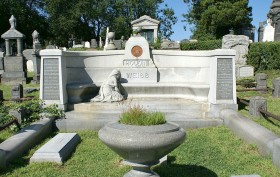 Harry Houdini grave, Glendale Queens