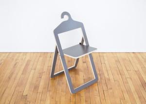 Philippe Malouin, hybrid design, wooden chair, Hanger Chair, Umbra Shift, ICFF, Design Academy Eindhoven