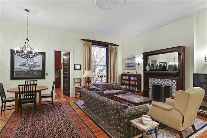 52 West 70th Street, Central Park, prewar detail, wood-burning fireplace
