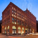 Tour the chefs club restaurant by food wine magazine for Puck building