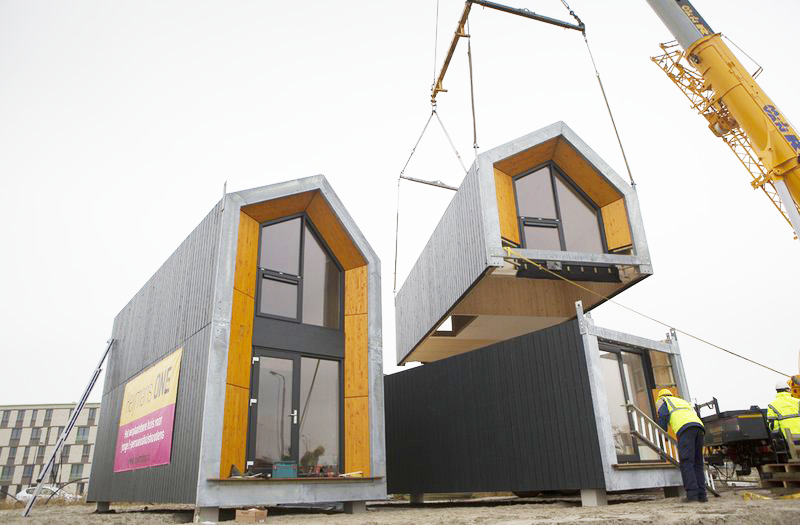 Could these portable temporary homes help solve nyc 39 s for Affordable house