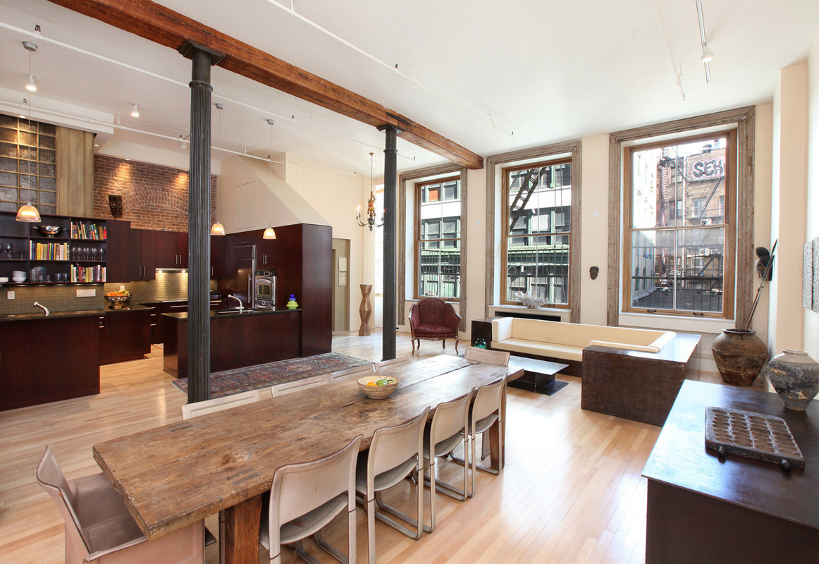 Bachelor pad with pool table asks 3 5 million 6sqft - A loft apartment bachelor pad ...