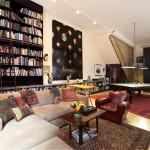 81 Walker Street, renovated loft condo, pool table, European bathroom