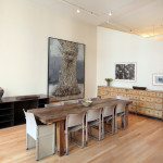 81 Walker Street, renovated loft condo, pool table, European bathroom