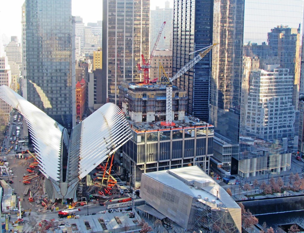 Calatrava wtc transportation hub