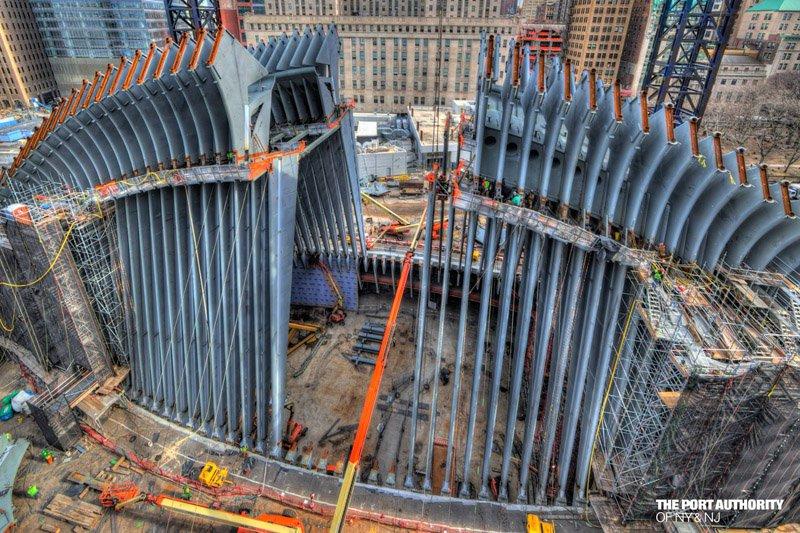 Calatrava WTC Transportation Hub Oculus