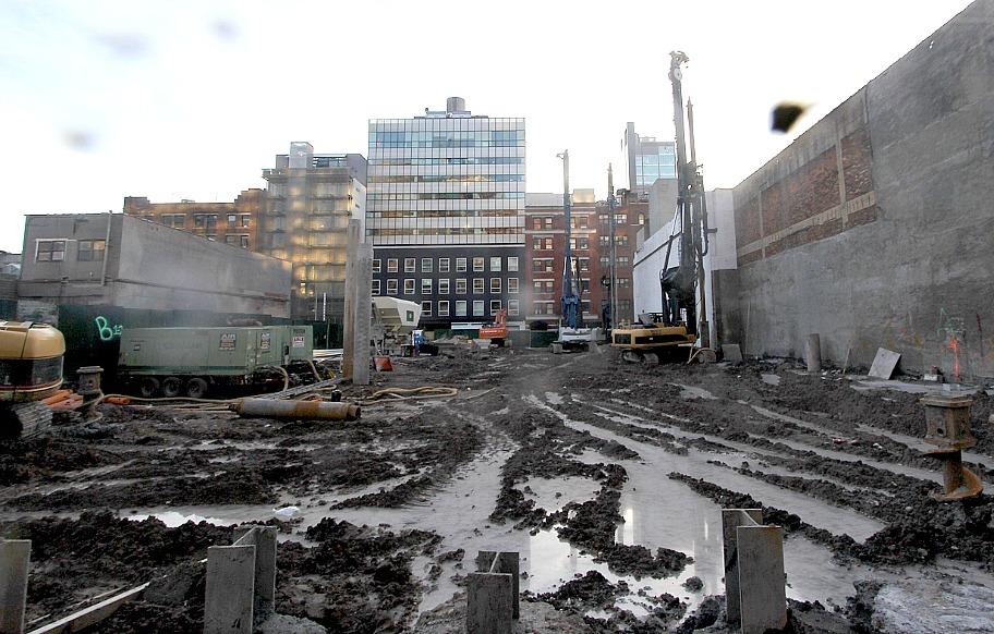 Jardim construction site