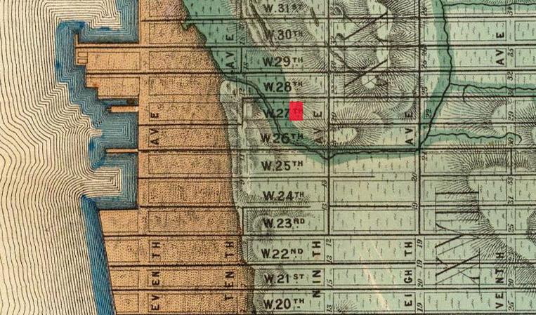 Jardim Viele_Map_1865