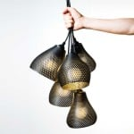 3D-Printed Pendant Lights, The Rumbles, Studio MeraldiRubini