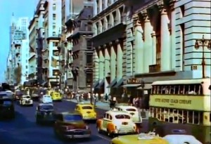 Mighty Manhattan – New York's Wonder City, Technicolor, vintage Manhattan, Fifth Avenue