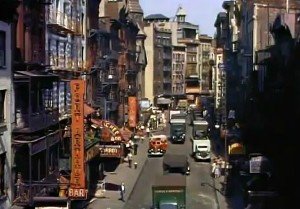 Mighty Manhattan – New York's Wonder City, Technicolor, vintage Manhattan, Chinatown
