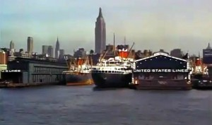 Mighty Manhattan – New York's Wonder City, Technicolor, vintage Manhattan, Chelsea Piers