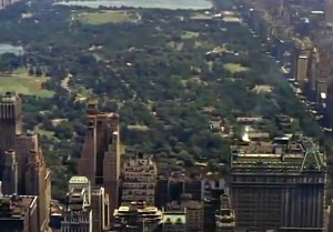 Mighty Manhattan – New York's Wonder City, Technicolor, vintage Manhattan, Central Park