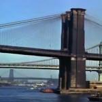 Mighty Manhattan – New York's Wonder City, Technicolor, vintage Manhattan, Brooklyn Bridge