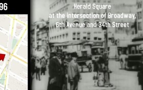 Herald Square, oldest footage of NYC