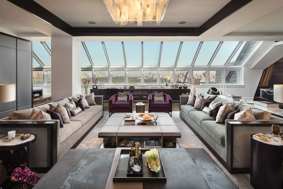 Troubled plaza penthouse returns with the same 59m asking for Central park penthouses for sale