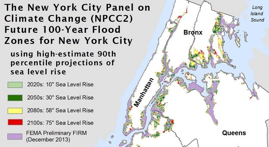 In NYC Will Be Hotter Rainier And Inches Underwater Sqft - Fema firm maps nyc